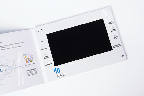 Plaquette video imprimée Yanda