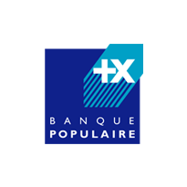 Logo de la Banque Populaire, client de Yanda