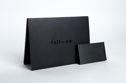 Brochure vidéo noire réalisée pour l'agence Foll-ow par Yanda
